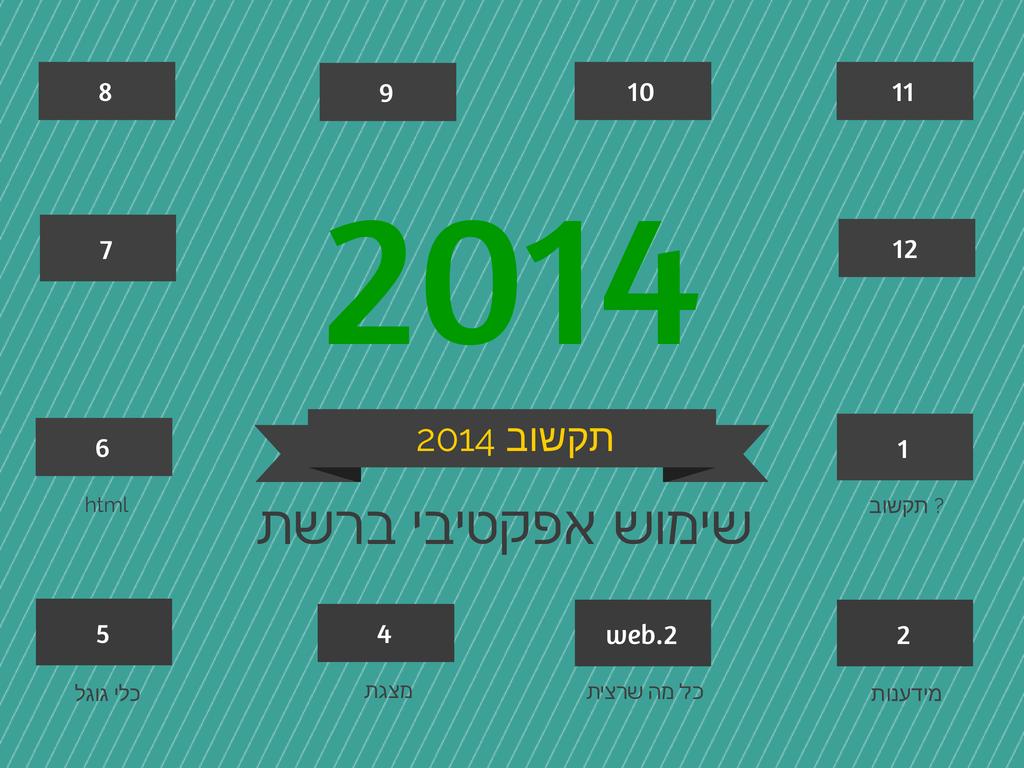 תקשוב 2014